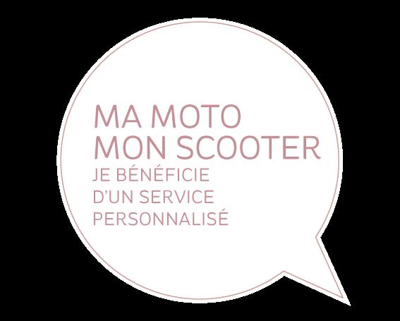 Ma moto – mon scooter